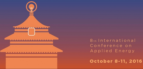 International Conference on Applied Energy (ICAE) 2016, 8-11 October 2016, Beijing, China