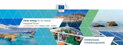Tilos Horizon participates in Clean Energy for EU Islands – Inaugural Forum in Chaniá, Greece