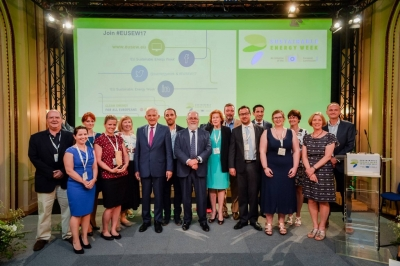 TILOS wins Energy Islands' Award and Public Vote Award at EU Sustainable Energy Week – EUSEW17