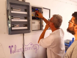 TILOS-project helps the Tilos Refugee Hospitality Centre with electricity smart metering