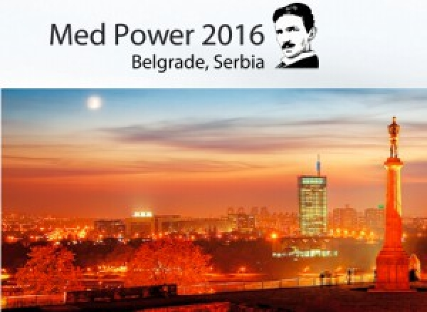 Med Power 2016, 6-9 November 2016, Belgrade Serbia.